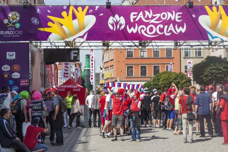 Euro 2012 - Poland. imagens de stock