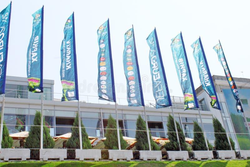 Download Euro 2012 Street Decoration Editorial Stock Photo - Image: 25292083