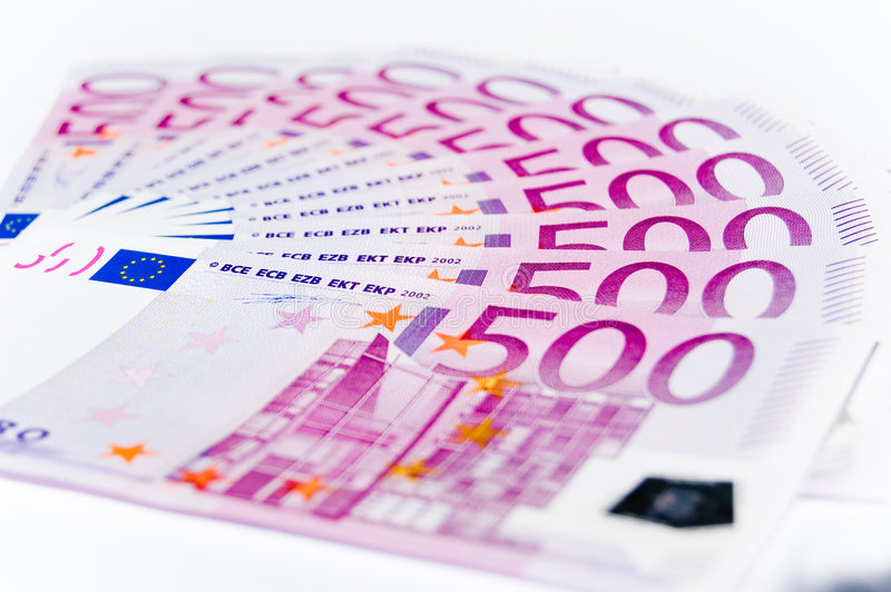 Euro photographie stock