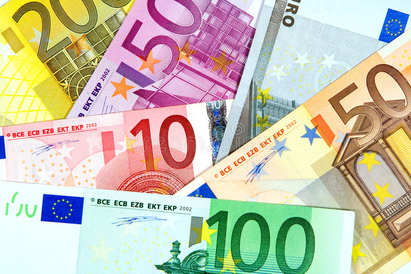 Euro Fotografia Royalty Free