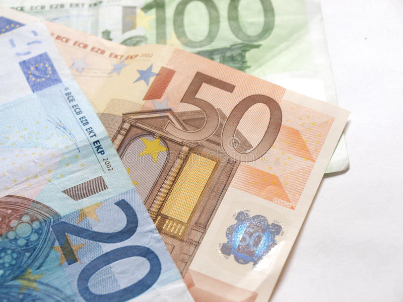 Euro- fotografia de stock royalty free
