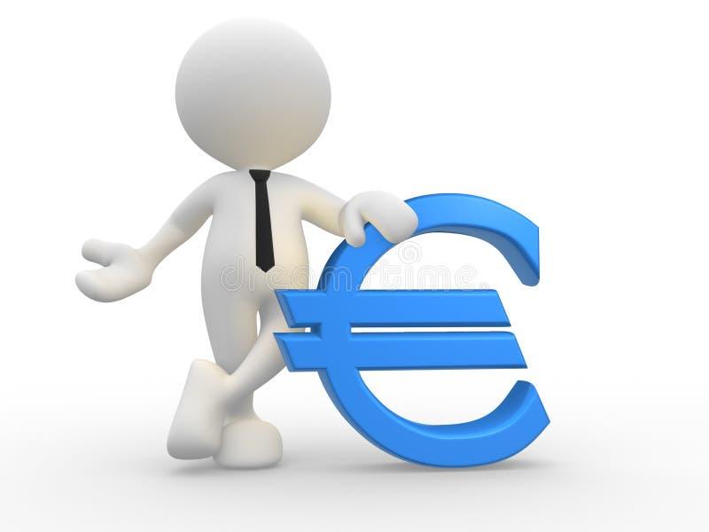 Euro- ilustração royalty free