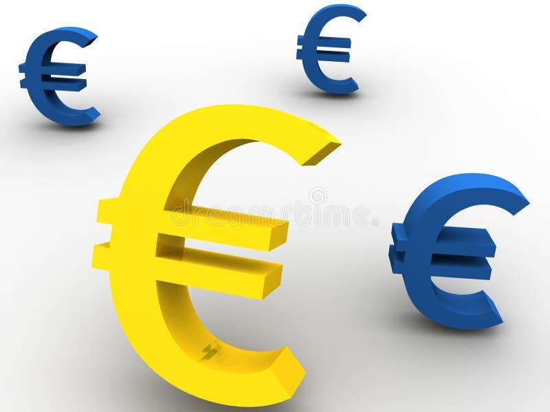 Euro illustration de vecteur