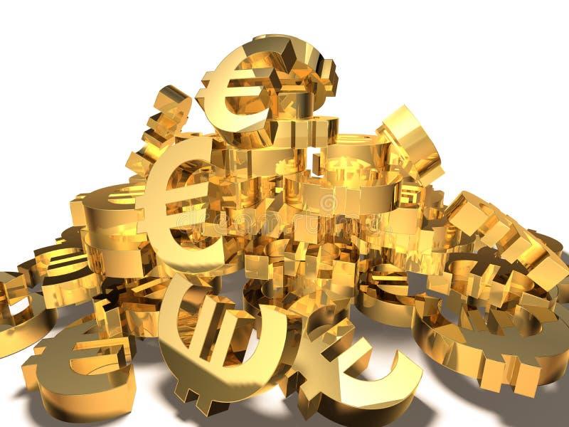 Euro- ilustração do vetor