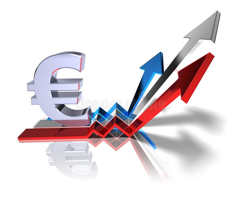 Euro lizenzfreie abbildung