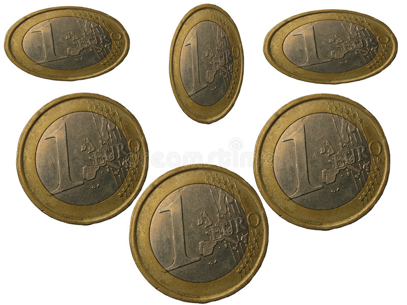 Euro. Money - euro on a background royalty free stock images