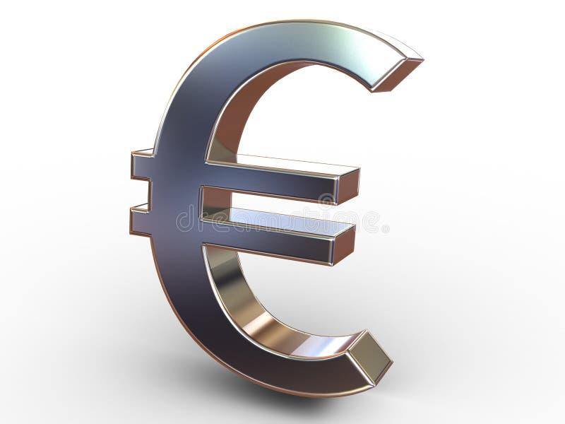 euro royaltyfri illustrationer