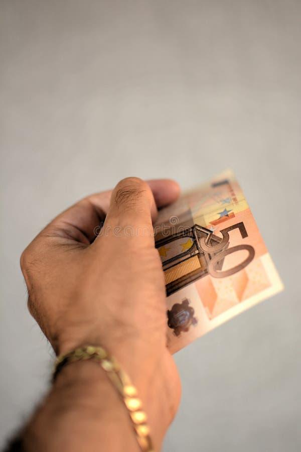 Download Euro 50 imagen de archivo. Imagen de batería, papel, dinero - 44851147