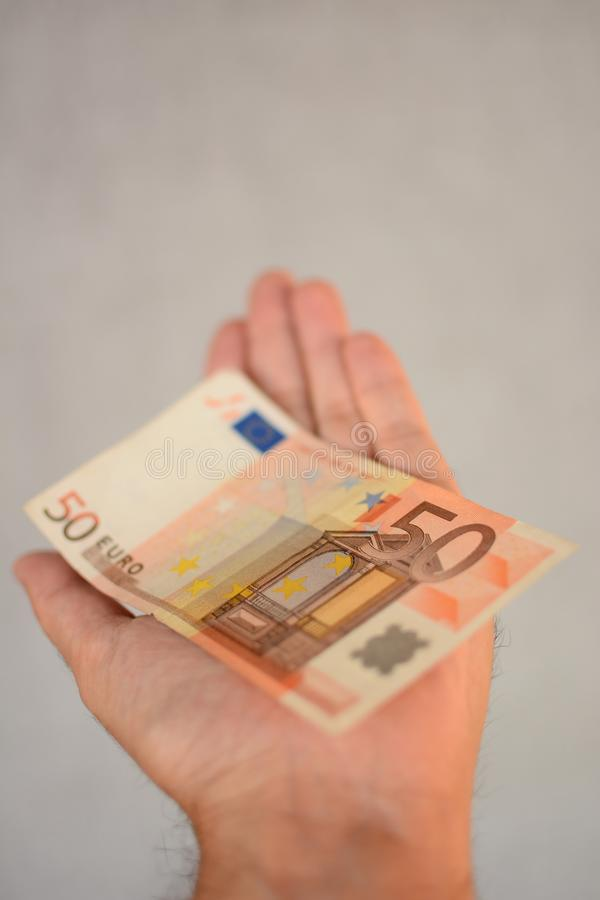 Download Euro 50 foto de archivo. Imagen de efectivo, papel, símbolo - 44851244
