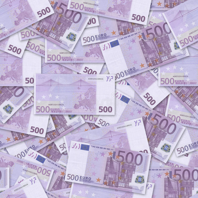Euro 500 foto de stock