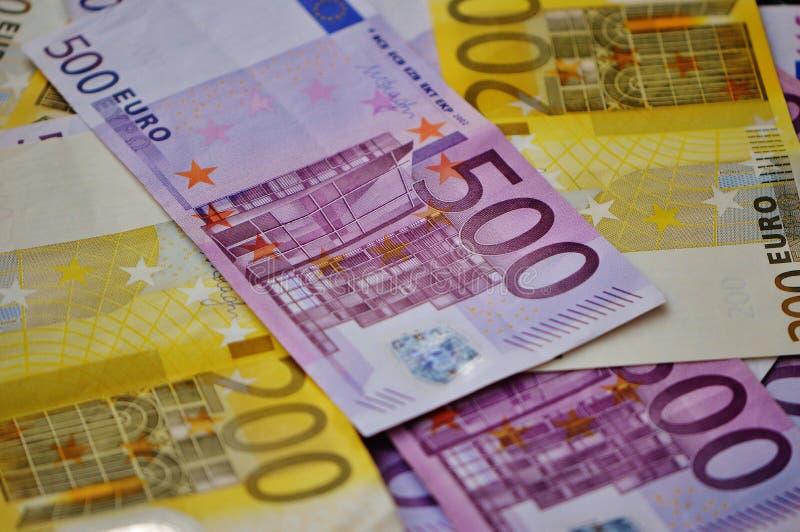 EURO 500 fotos de archivo libres de regalías