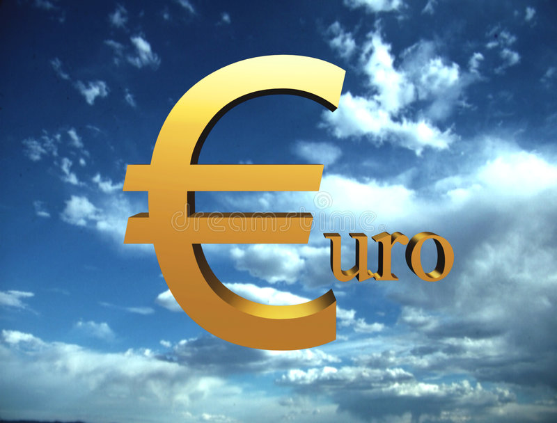 Download Euro stock illustrationer. Illustration av fluga, mynt - 502733