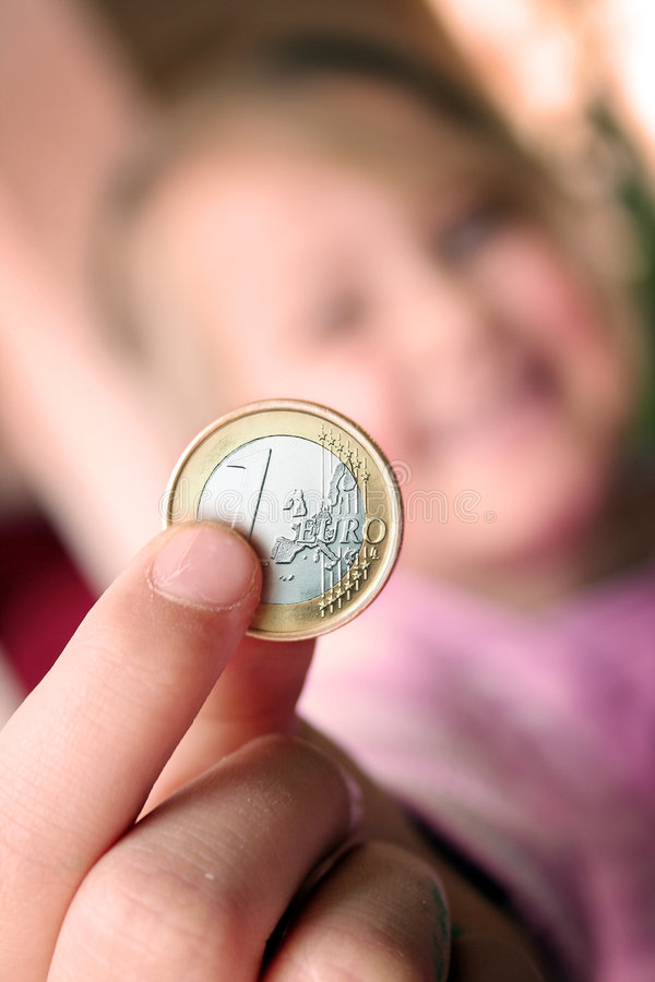 Download Euro stock image. Image of payment, child, close, finance - 6946273