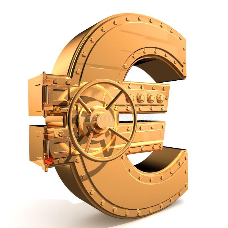 Euro stock illustratie