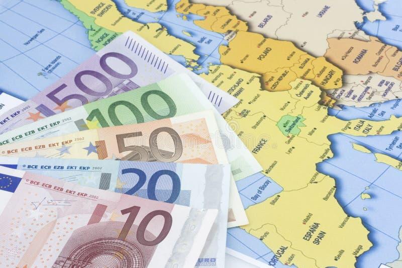 Euro al programma immagini stock