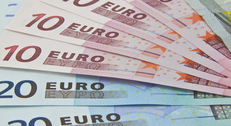 Download Euro Bank Notes Fanned Out Royalty Free Stock Photo - Image: 24027495