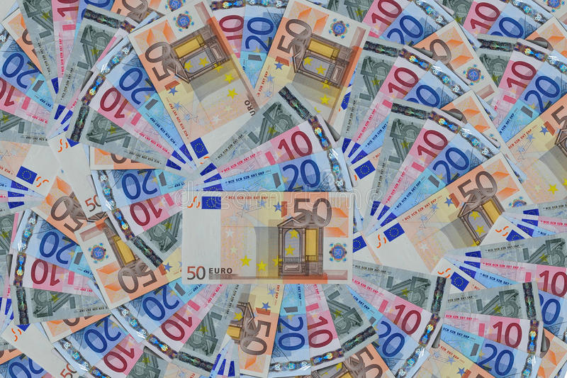 Download Euro banknote stock image. Image of colorful, abstract - 20722441
