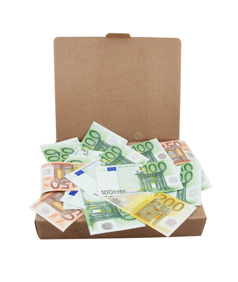 Free Euro Banknotes In A Box Royalty Free Stock Images - 14192799