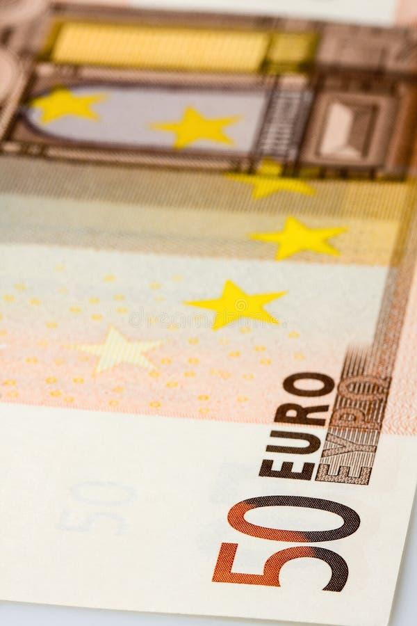 Download 50 Euro Banknotu Zbliżenie Obraz Stock - Obraz: 30321641