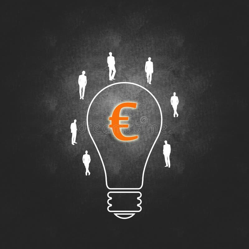 Download Euro Bedrijfssucces En Het Beheersproces Stock Illustratie - Illustratie bestaande uit implementatie, zaken: 29513771