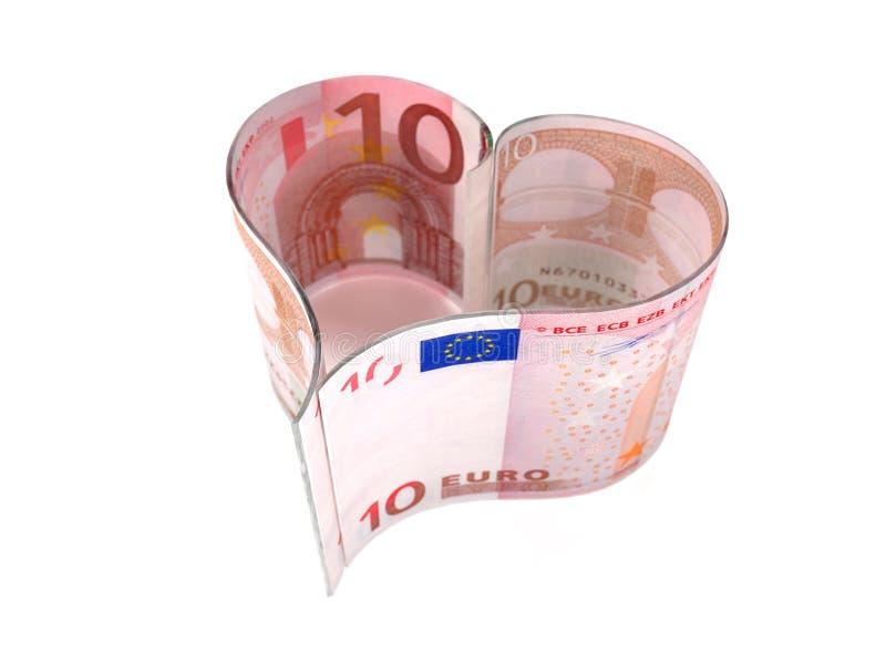 Euro Bill Stock Image