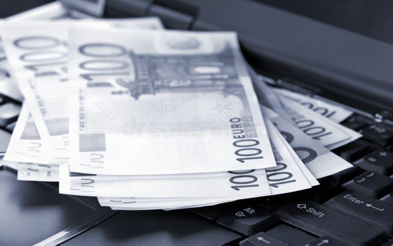 Euro billets de banque photo libre de droits