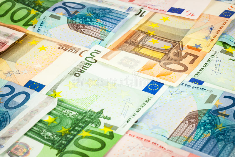 Download Euro bills stock image. Image of europe, crisis, fifty - 25077643