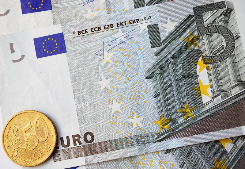 Euro Cash stock images