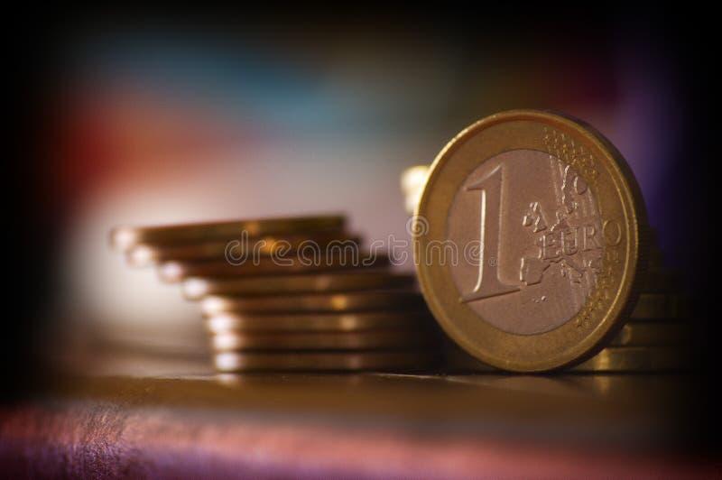1 Euro Cent stock photos