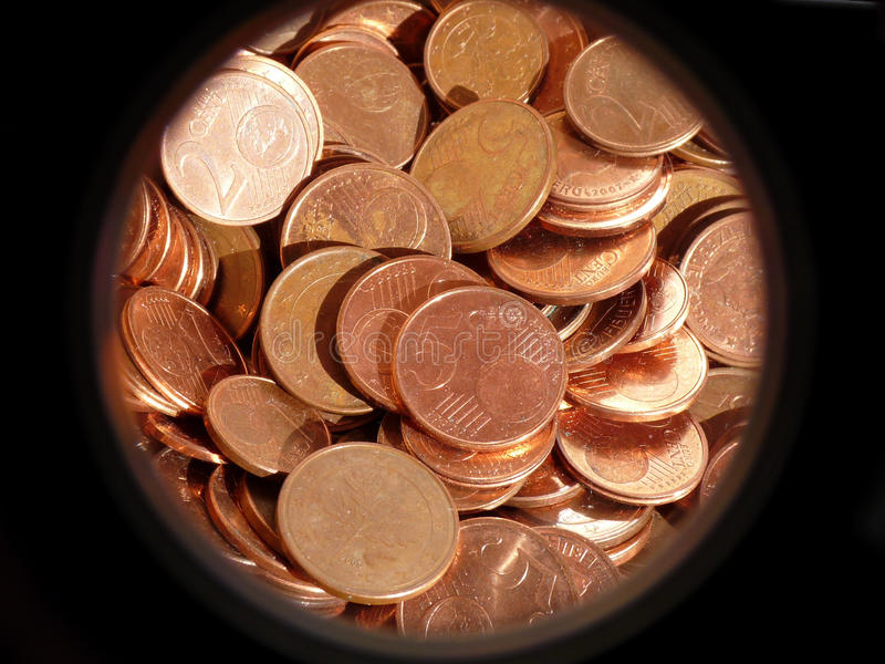 Download Euro Cents stock image. Image of focus, banking, finacement - 13365735