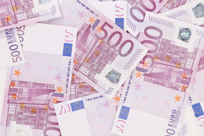 Euro cinq cents photo stock