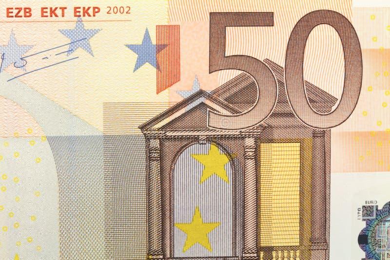Euro cinquante images libres de droits