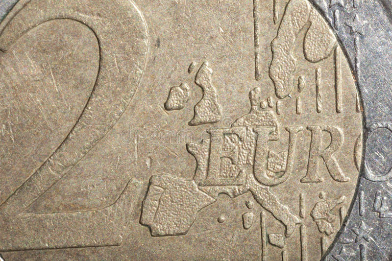 Download Euro coin stock image. Image of shadow, perfect, closeup - 21062115