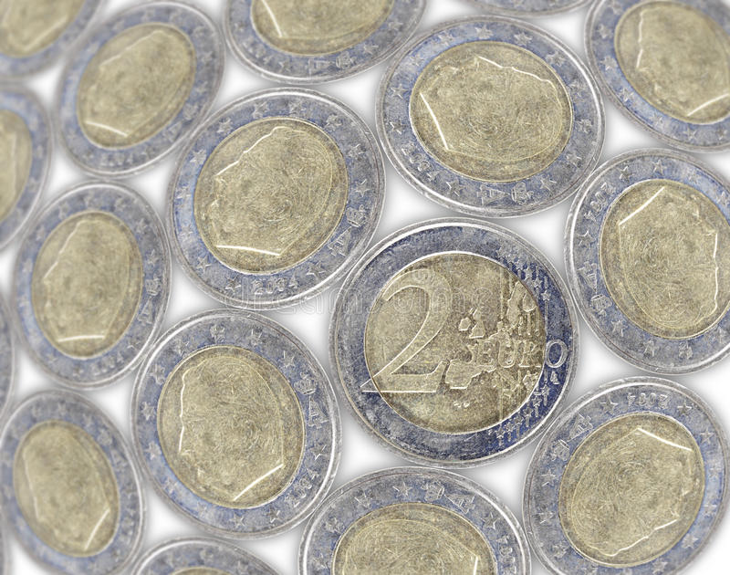 Download Euro coin stock photo. Image of commerce, coin, borrowing - 24953876
