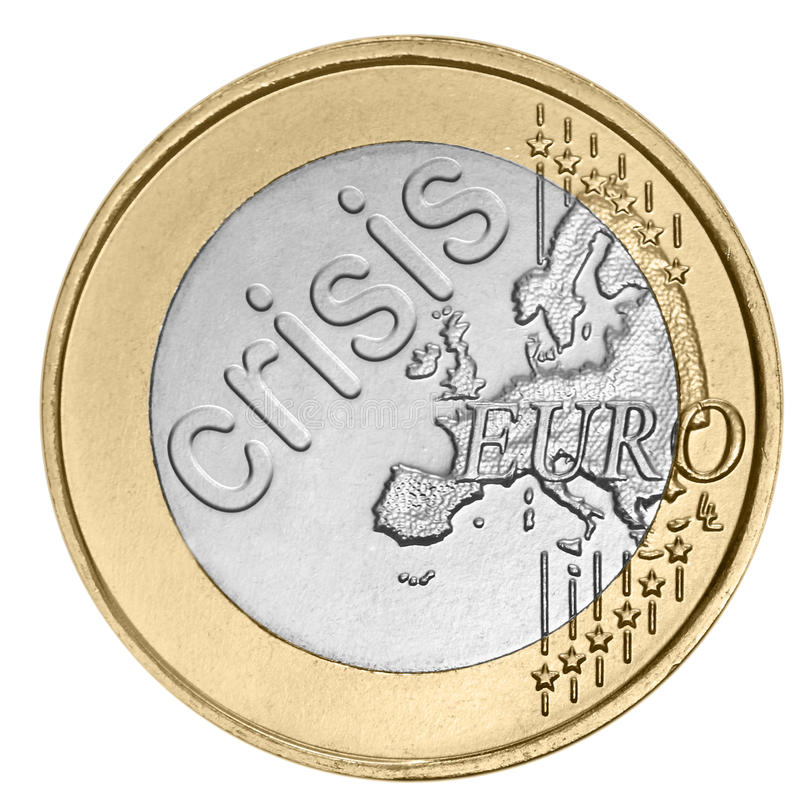 Download Euro coin with word stock photo. Image of collage, cent - 25756438