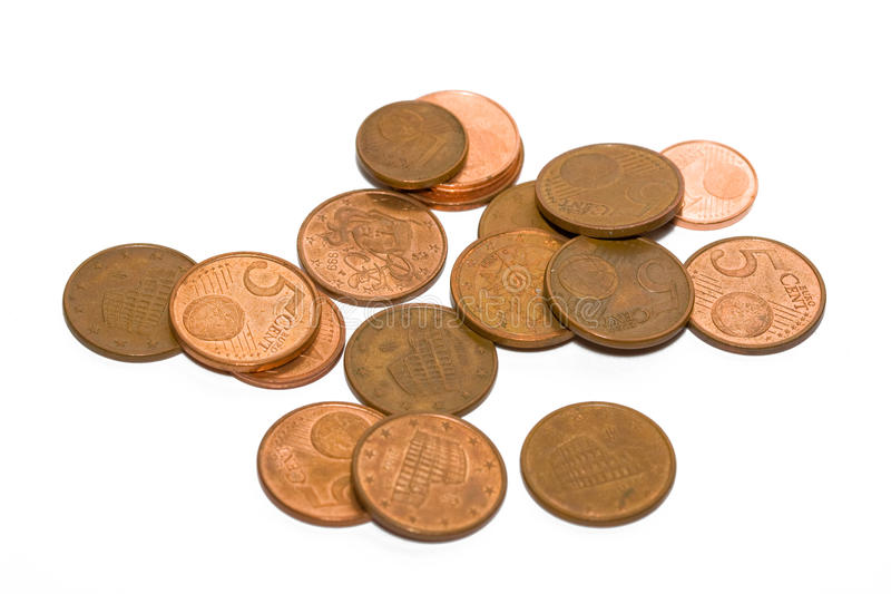 Download Euro coins stock image. Image of finance, cash, exchange - 10019467