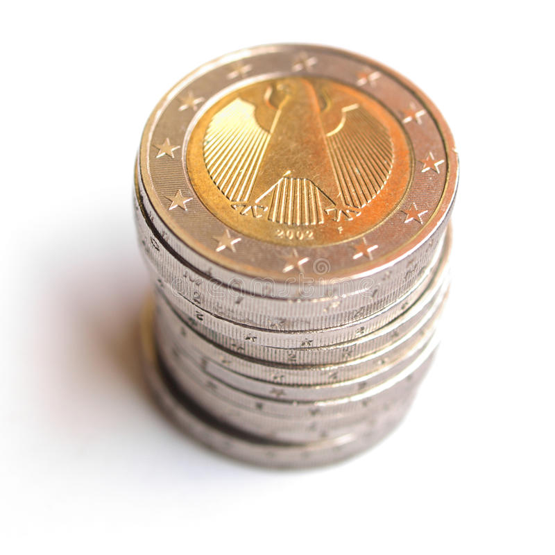 Download Euro coins stock photo. Image of coins, spending, background - 10640436