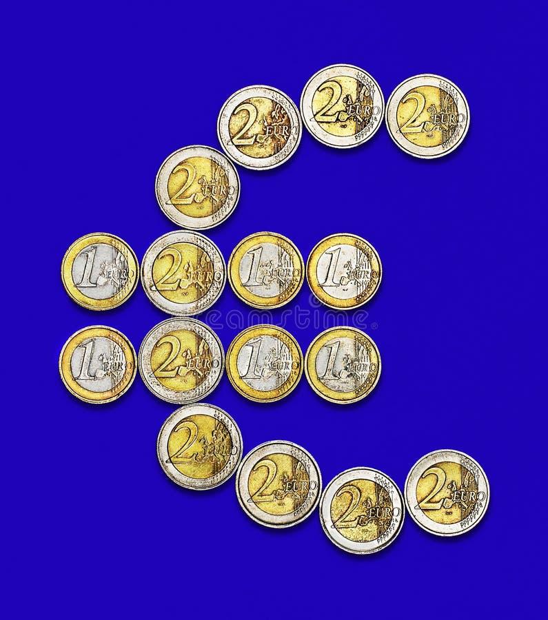 Download Euro Coins stock photo. Image of metal, euro, poverty - 29903736