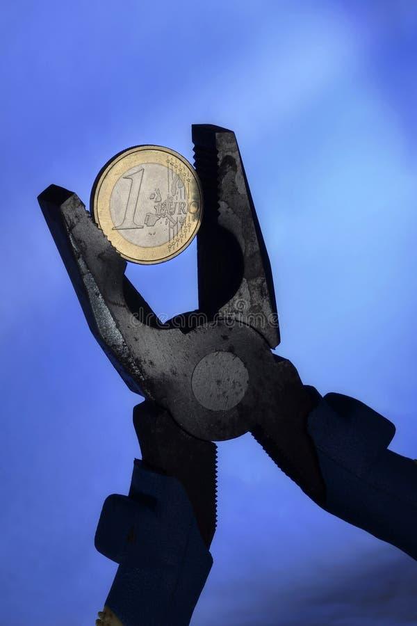 Euro Crisis Royalty Free Stock Images