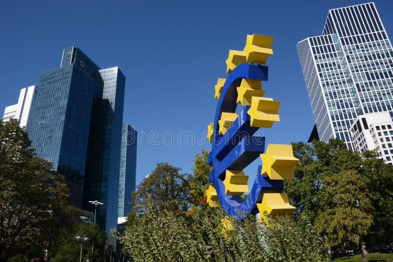 Euro crisissen stock foto