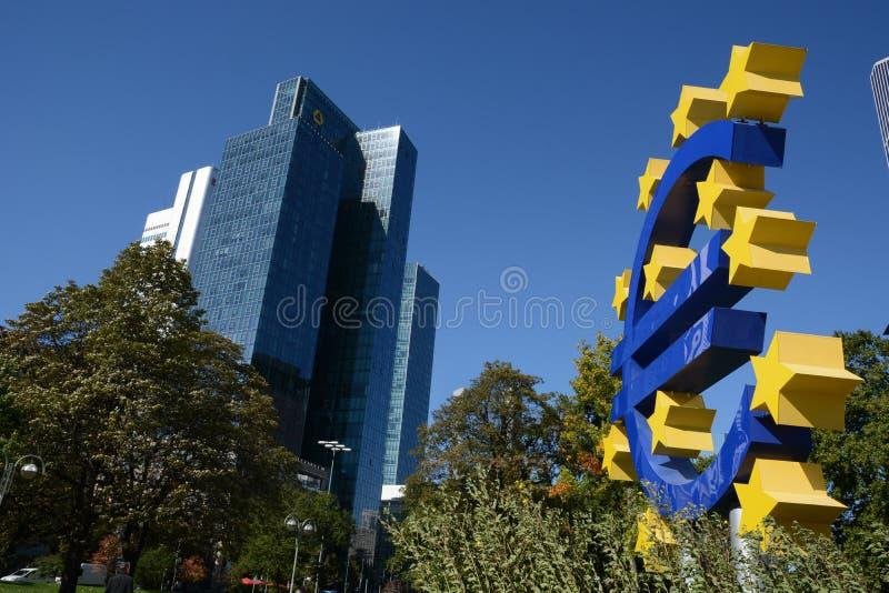 Euro crisissen stock foto's