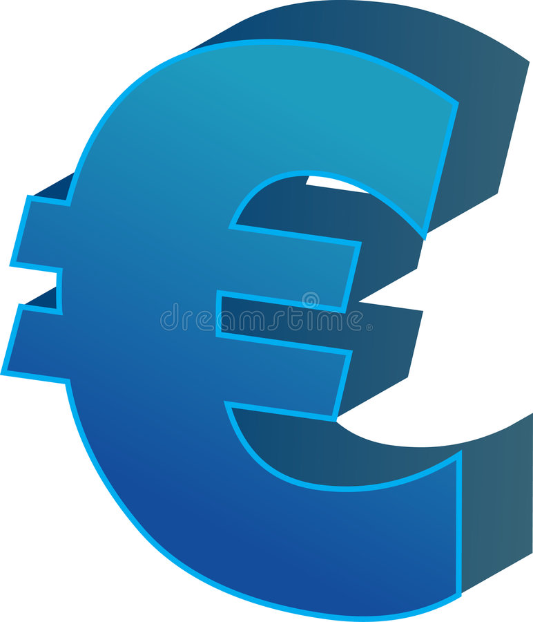 Download Euro currency stock vector. Illustration of accounting - 4120841