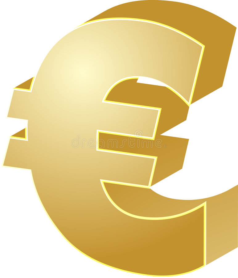 Download Euro currency stock vector. Illustration of business, economy - 6770401