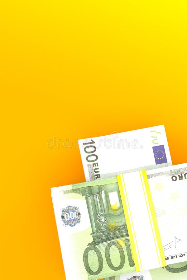 Euro currency vector illustration