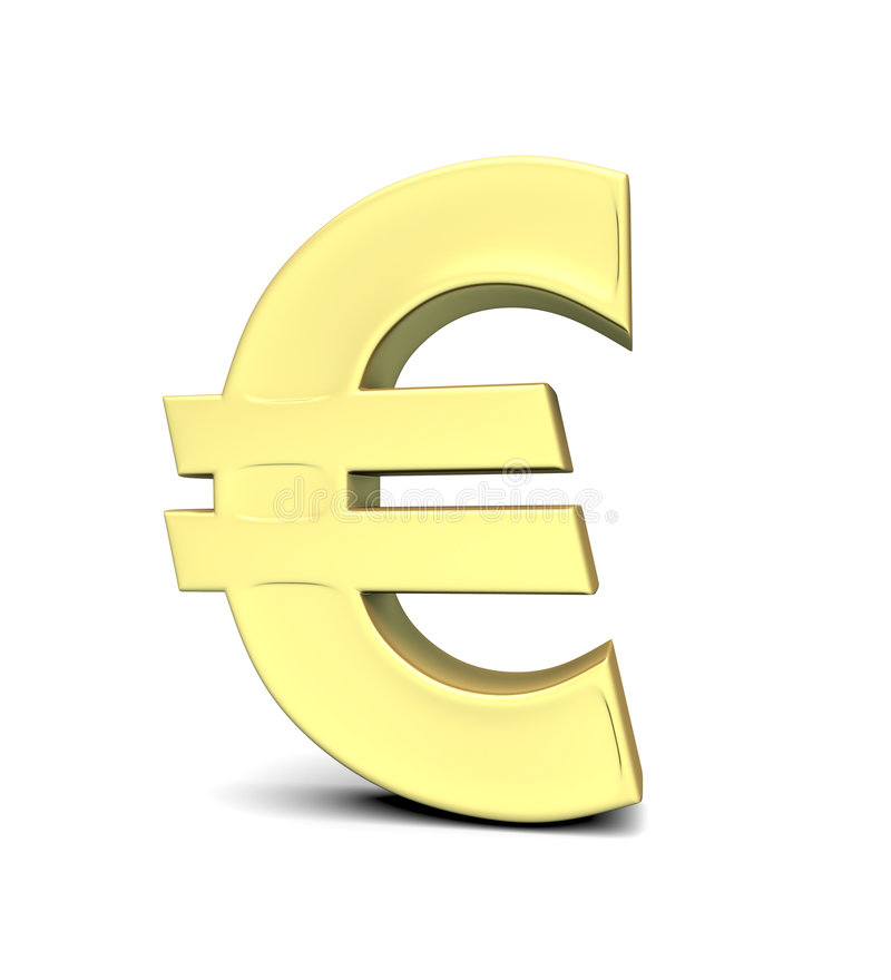 Euro Currency Symbol Royalty Free Stock Photos