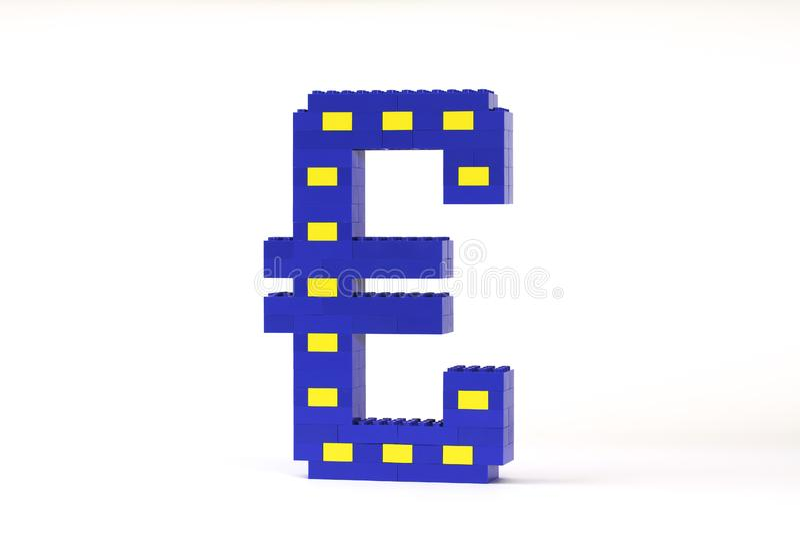 EURO da série da moeda