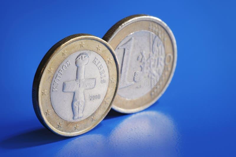 Euro de Chipre fotografia de stock royalty free