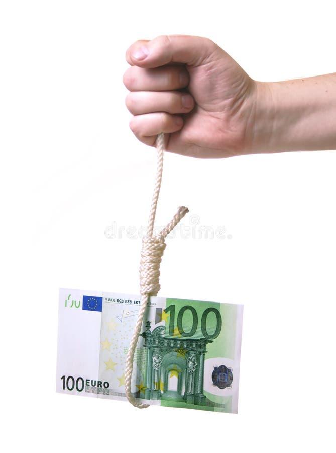 euro de crise images libres de droits