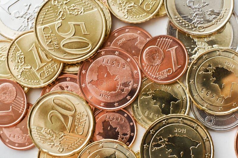 Euro de l'Estonie photos libres de droits