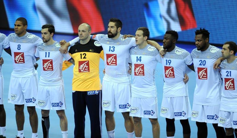 EURO del EHF Francia 2016 Serbia fotos de archivo